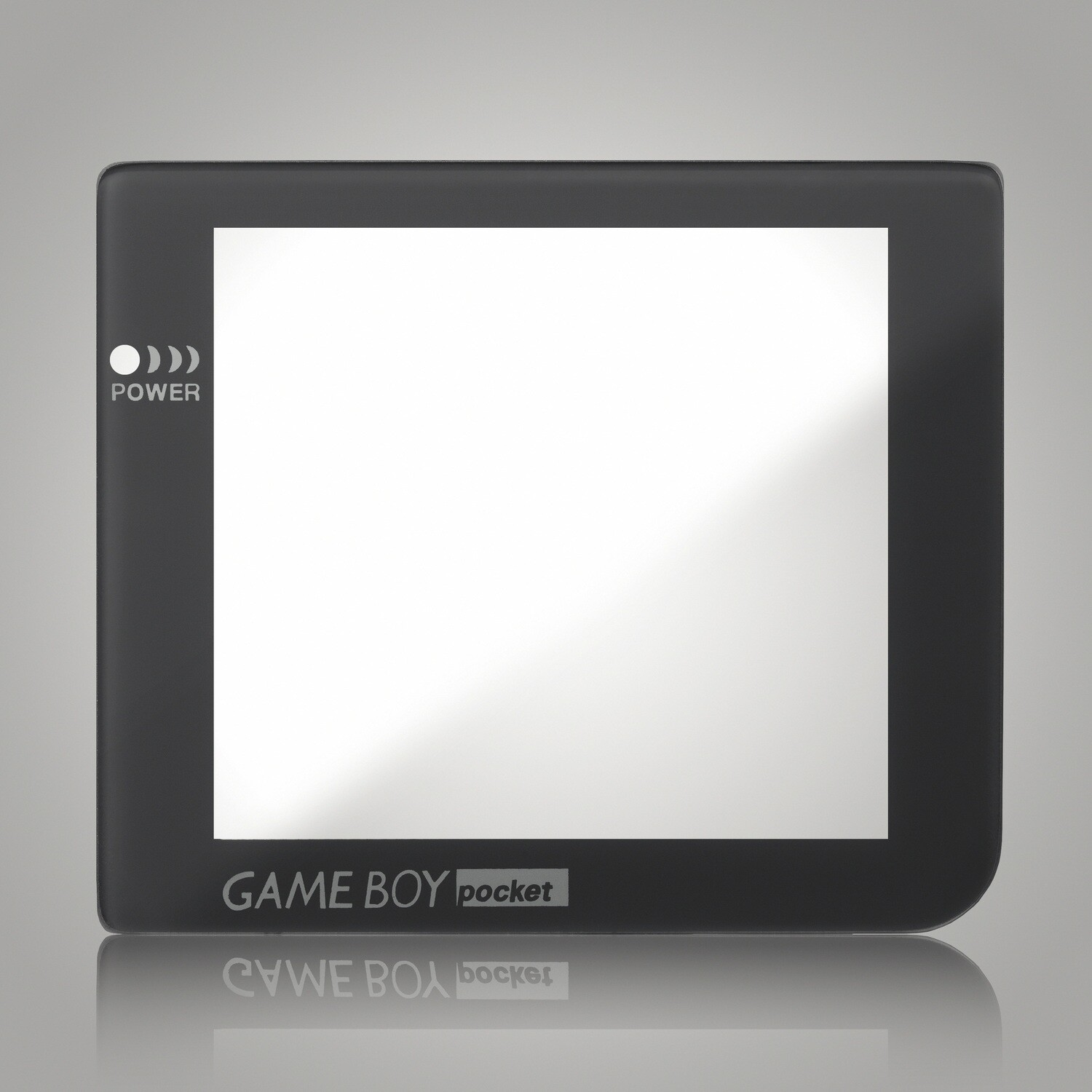 Game Boy Pocket Glass Screen (Dark Grey)