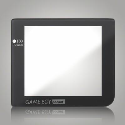 Game Boy Pocket Glass Screen (Dark Grey)