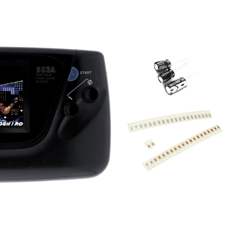 Game Gear Capacitor Kit