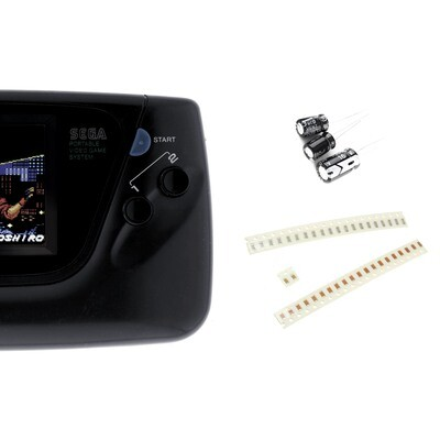 Game Gear Capacitor Kit