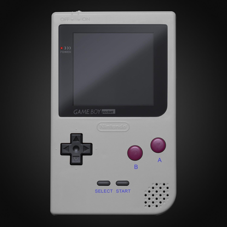 Game Boy Pocket Shell Kit (Grey)