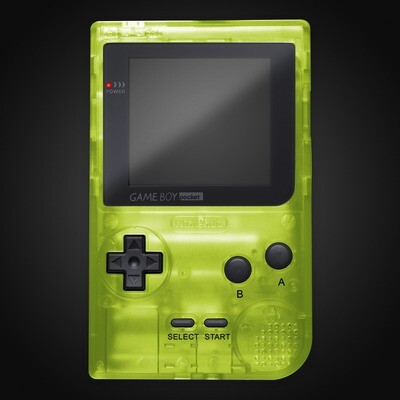 Game Boy Pocket Shell Kit (Clear Green)