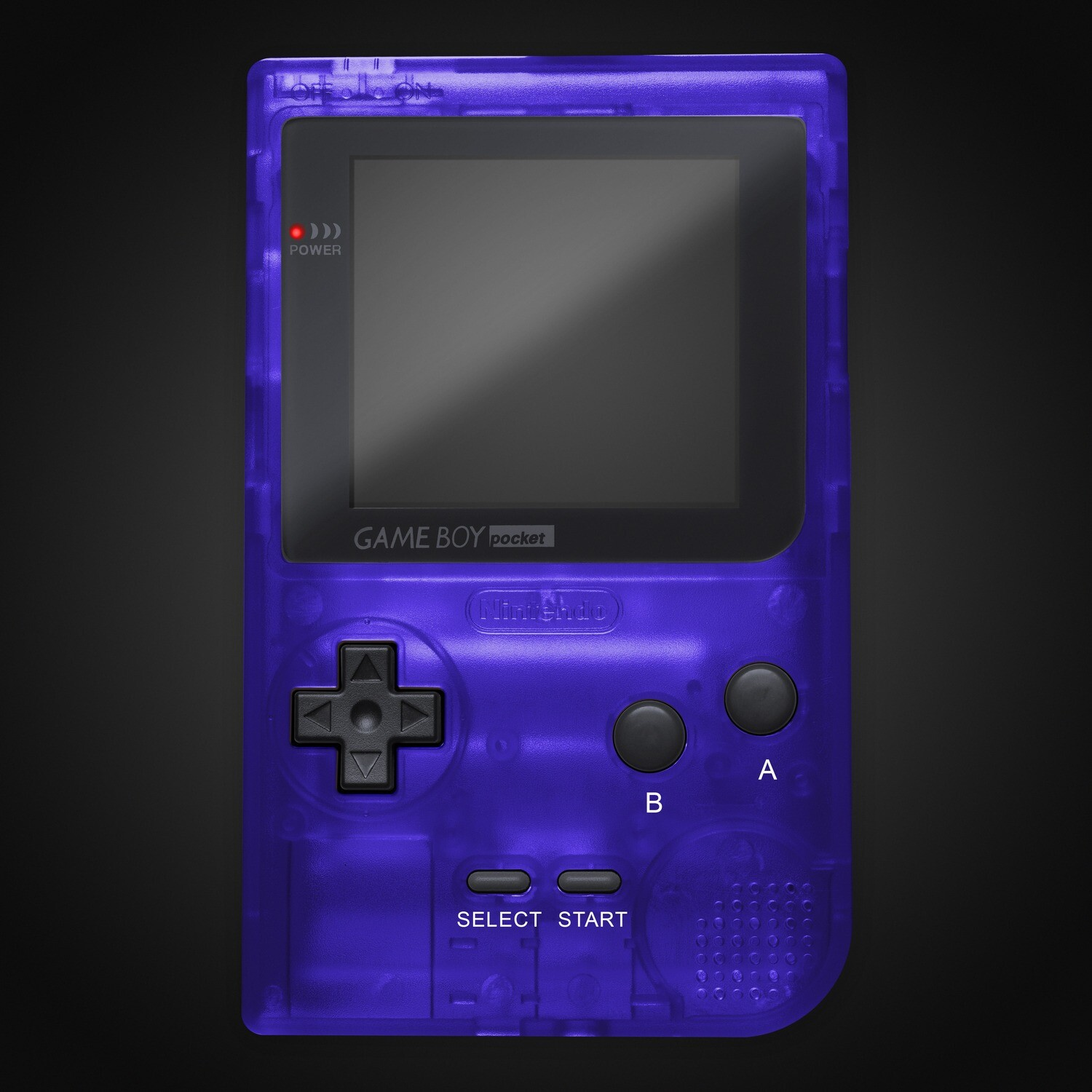 Game Boy Pocket Shell Kit (Clear Purple)