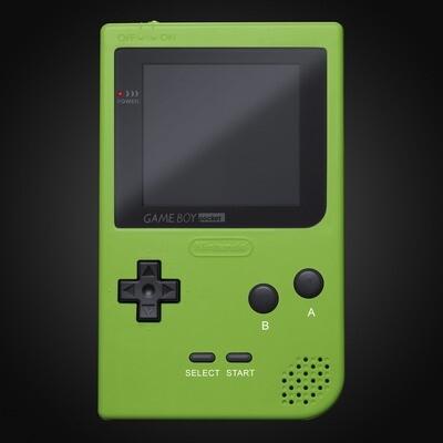 Game Boy Pocket Shell Kit (Green)