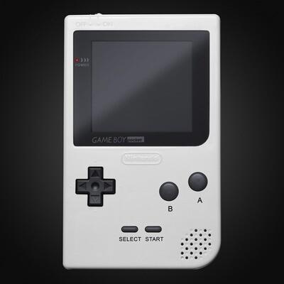 Game Boy Pocket Shell Kit (White)
