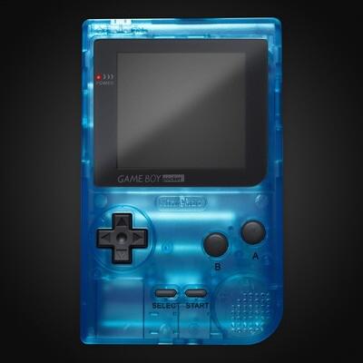 Game Boy Pocket Shell Kit (Clear Sky Blue)