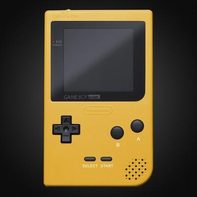 Game Boy Pocket Shell Kit (Yellow)