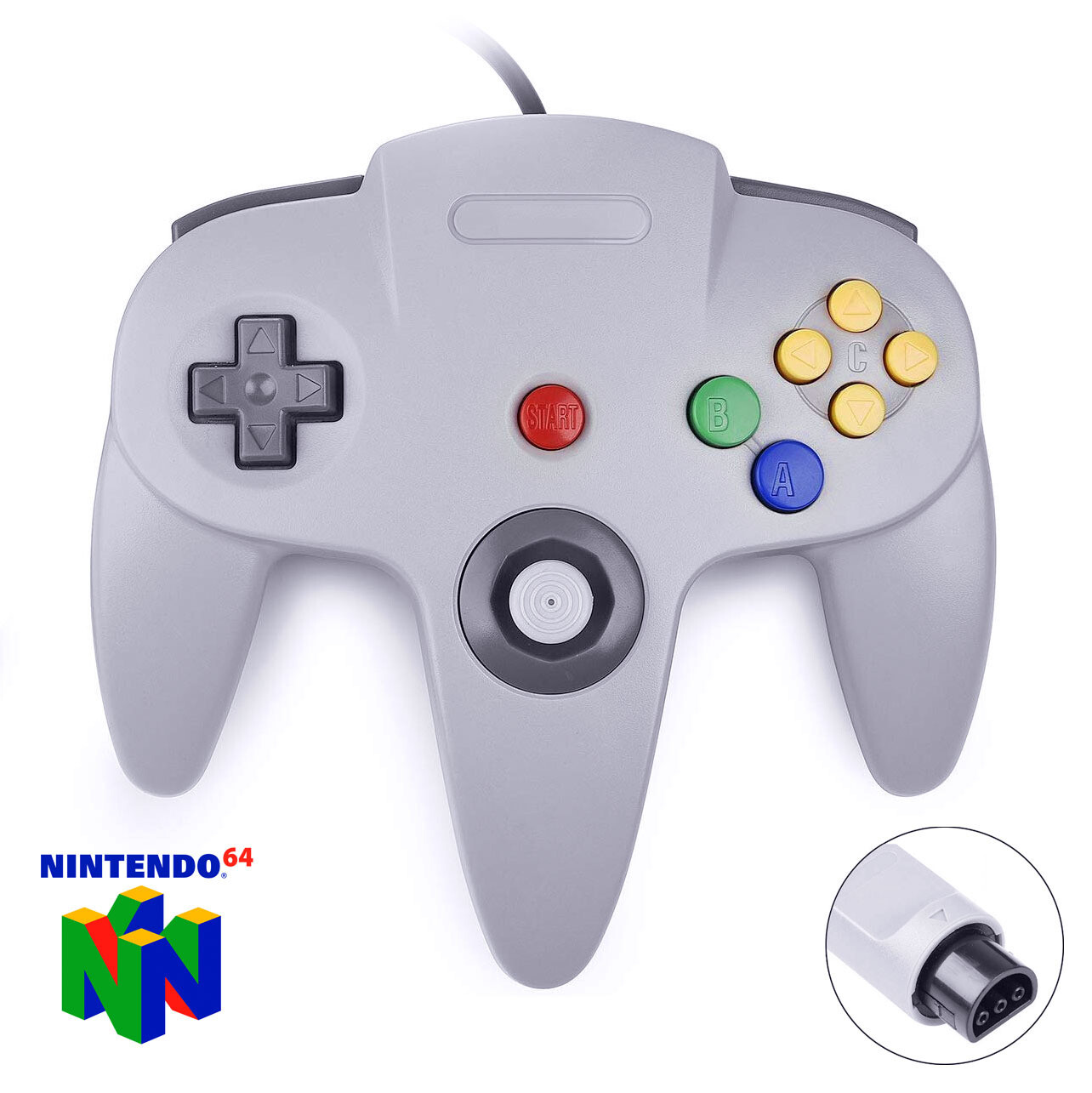 N64 Wired Controller (Grey)