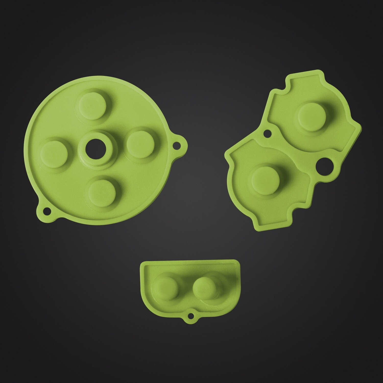 Game Boy Advance Rubber Pads (Green)