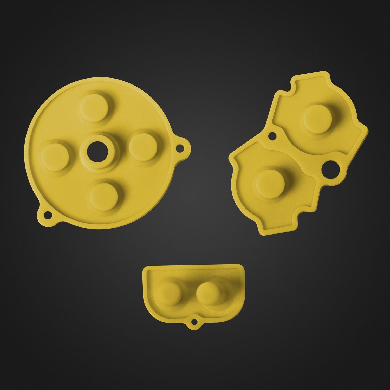 Game Boy Advance Rubber Pads (Yellow)