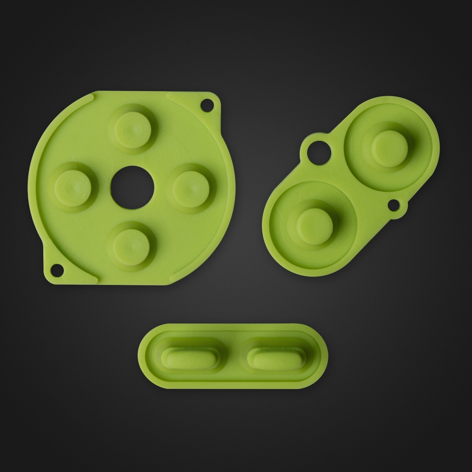 Game Boy Color Rubber Pads (Green)