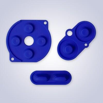 Game Boy Color Rubber Pads (Blue)