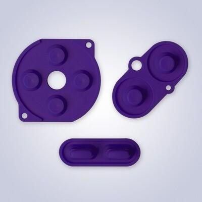 Game Boy Color Rubber Pads (Purple)