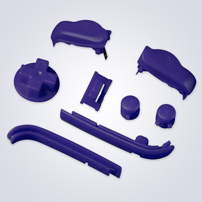 Game Boy Advance Buttons (Purple)
