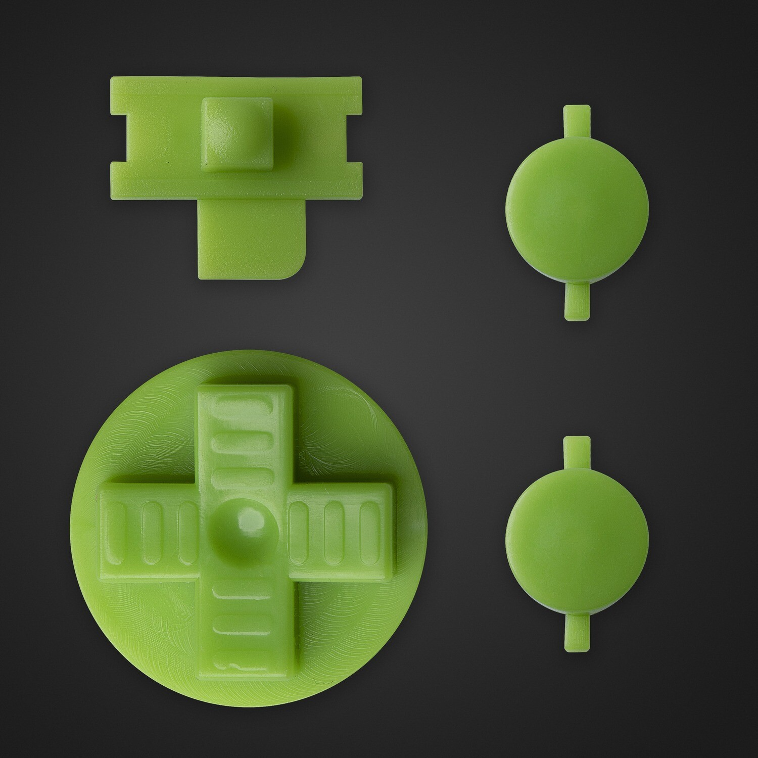 Game Boy Original Buttons (Green)