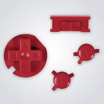Game Boy Color Buttons (Red)