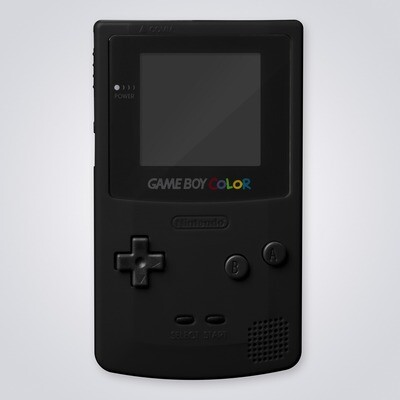 Game Boy Color Shell Kit (Black)