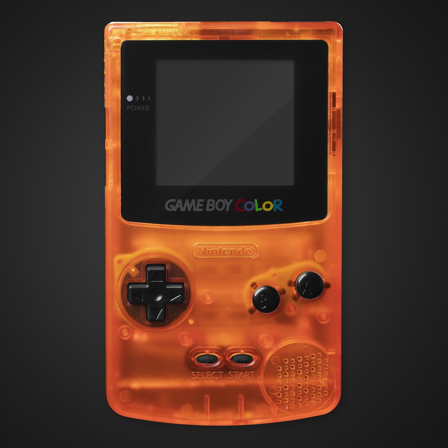 Game Boy Color Shell Kit (Clear Orange)