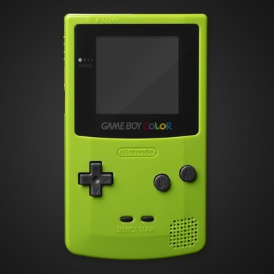 Game Boy Color Shell Kit (Apple Green)