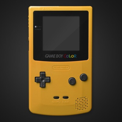 Game Boy Color Shell Kit (Yellow)