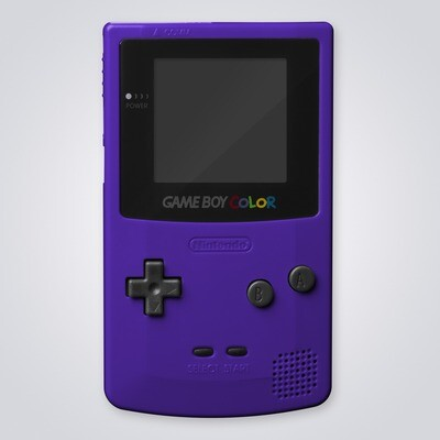 Game Boy Color Shell Kit (Grape Purple)