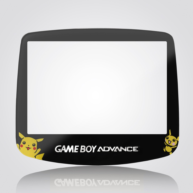 Game Boy Advance IPS Glass Screen (Pokemon)