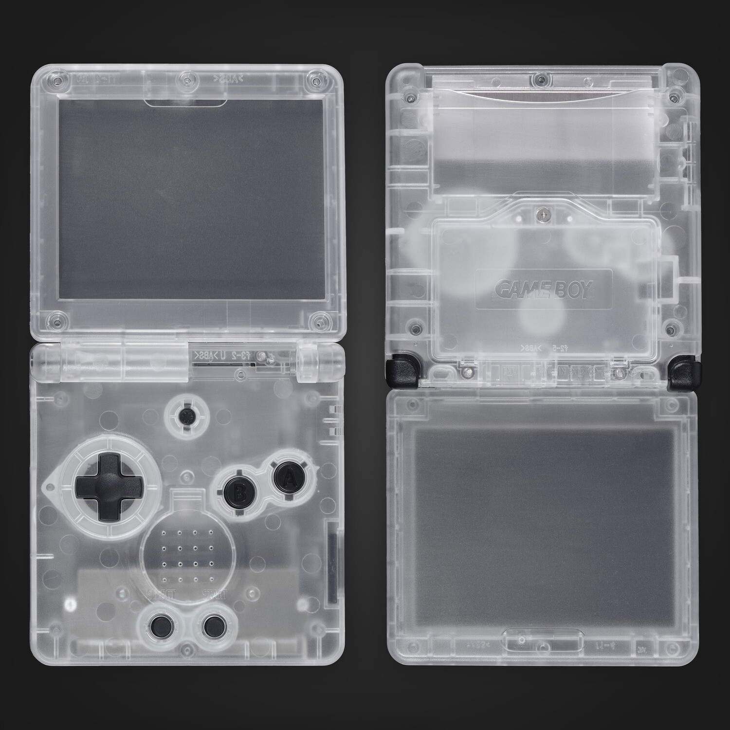 Game Boy Advance SP Shell Kit (Clear)