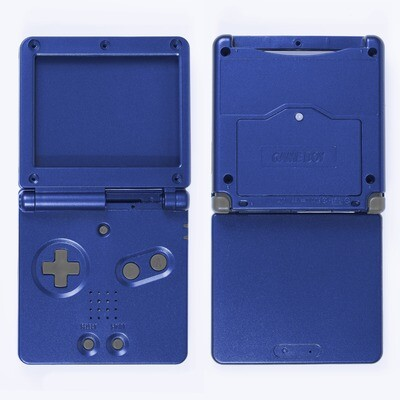 Game Boy Advance SP Shell Kit (Blue)