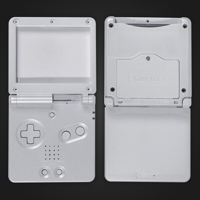 Game Boy Advance SP Shell Kit (Silver)