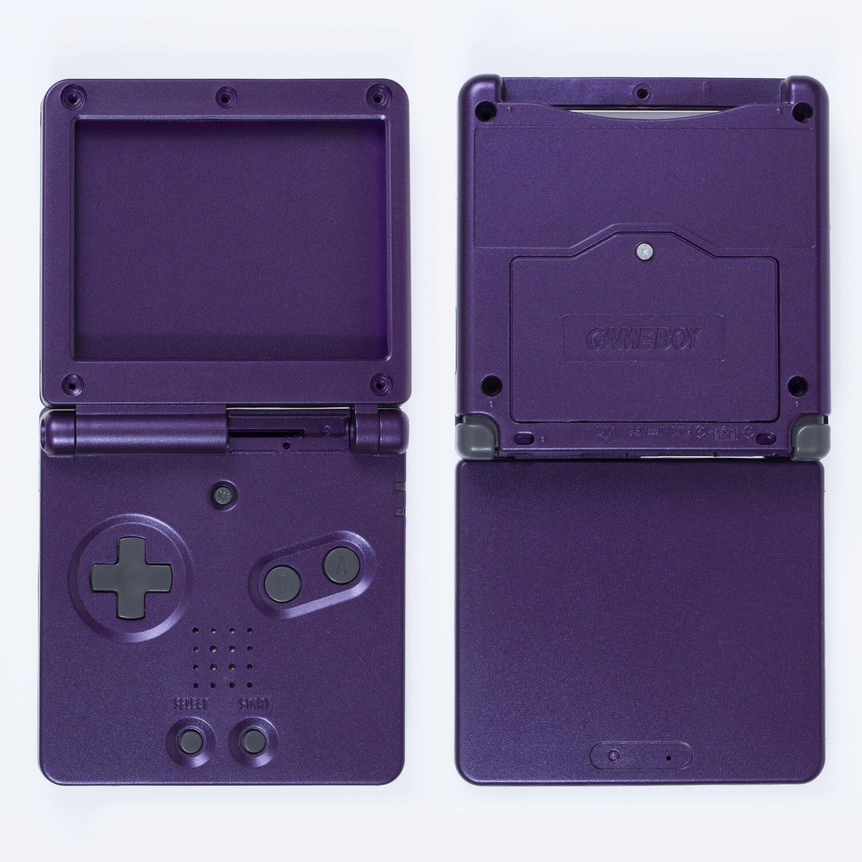 Game Boy Advance SP Shell Kit (Purple)