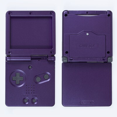 Game Boy Advance SP Shell Kit (Purple)