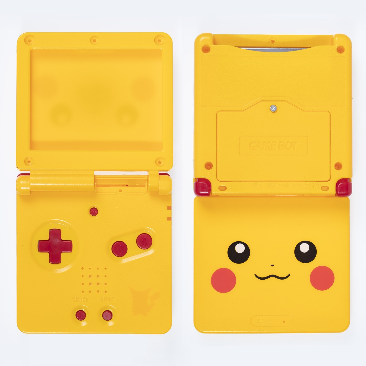 Game Boy Advance SP Shell Kit (Pikachu Yellow)