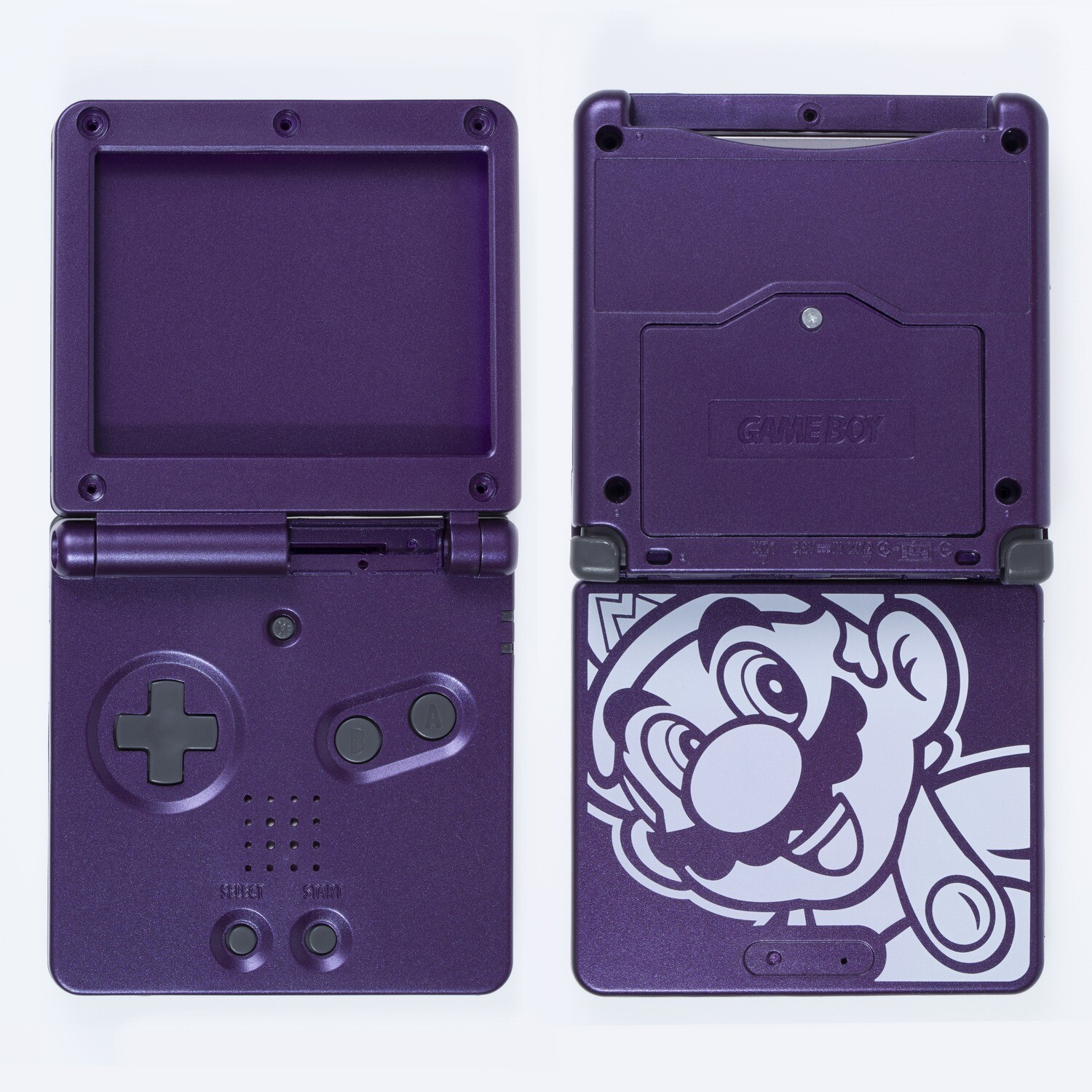 Game Boy Advance SP Shell Kit (Mario Purple)