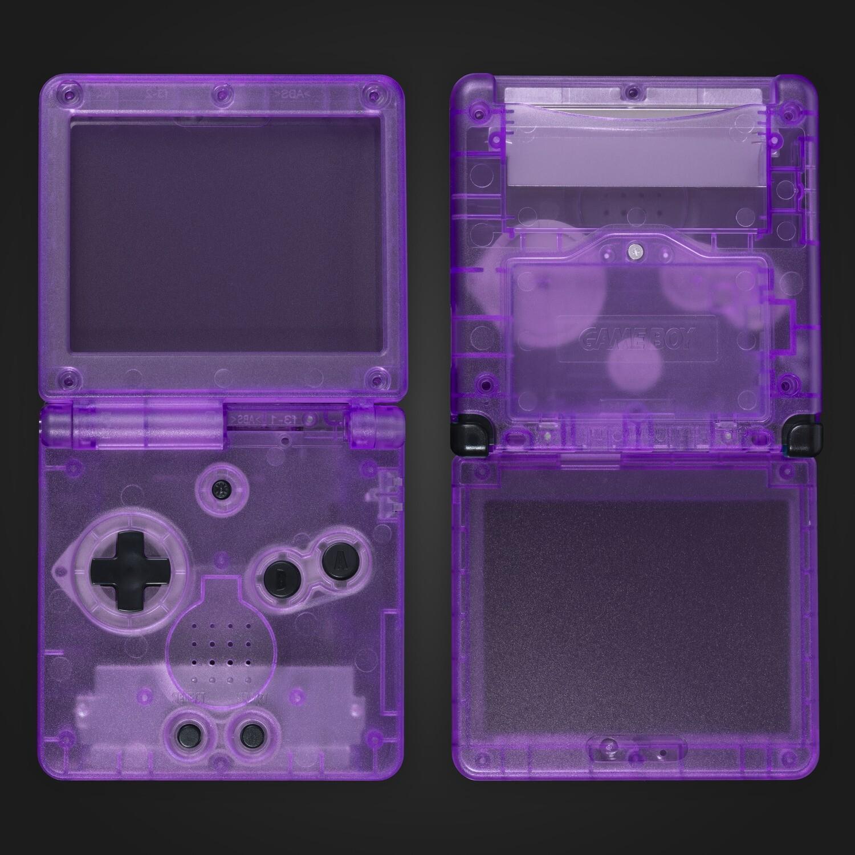 Game Boy Advance SP Shell Kit (Clear Purple)