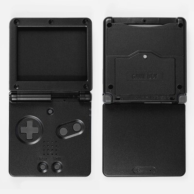 Game Boy Advance SP Shell Kit (Black)