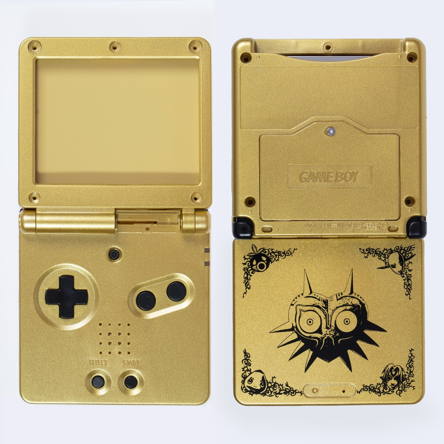 Game Boy Advance SP Shell Kit (Zelda Gold)