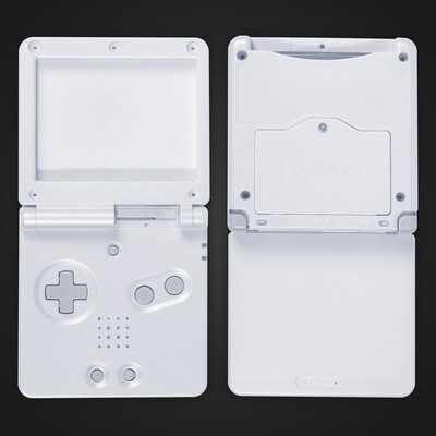 Game Boy Advance SP Shell Kit (White)