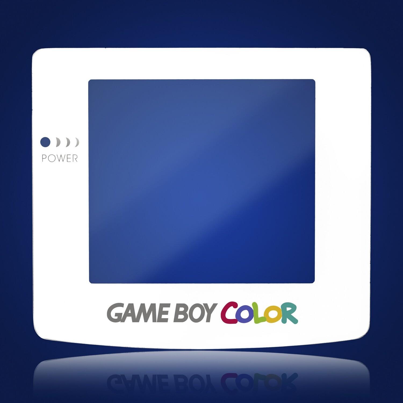 Game Boy Color Glass Screen (White)