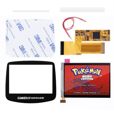 Game Boy Advance IPS Screen Kit