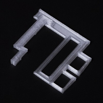 Game Boy Advance IPS Screen Bracket