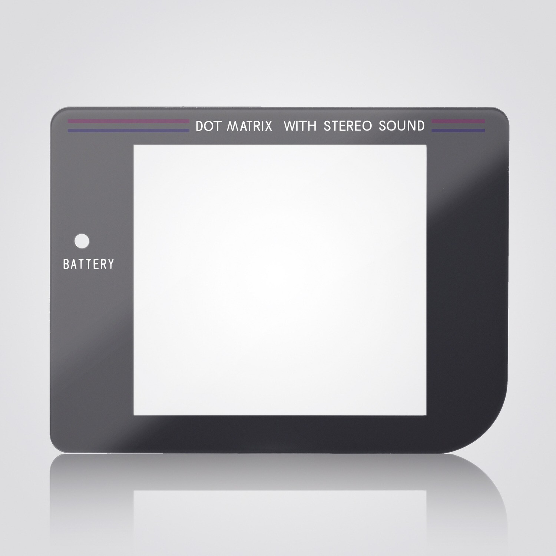 Game Boy Glass Screen (Play It Loud Grey)