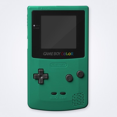 Game Boy Color Shell Kit (Teal)