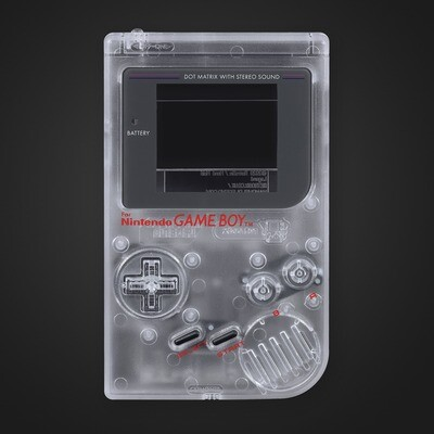 Game Boy Original IPS Shell Kit (Clear)