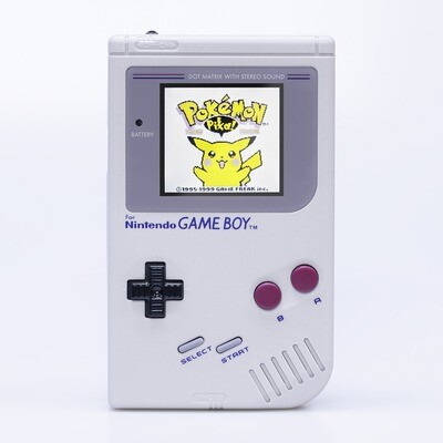 Game Boy Original: Prestige Edition (Grey)