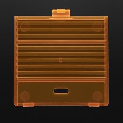 Game Boy Original USB-C Battery Cover (Clear Orange)