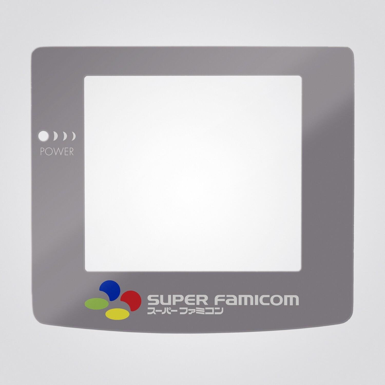 Game Boy Color Glass Screen (SFC Super Famicom)