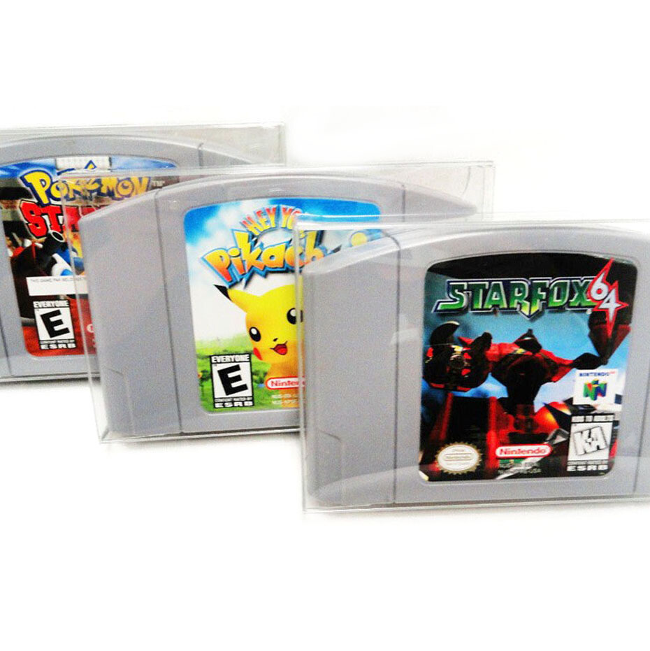 10x Protective Game Case for N64 Cartridge