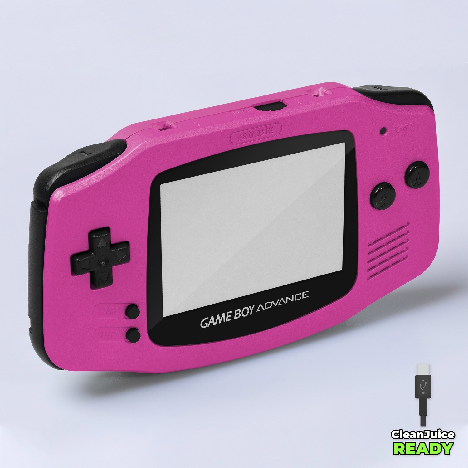 Game Boy Advance IPS USB-C Shell Kit (Pearl Pink)