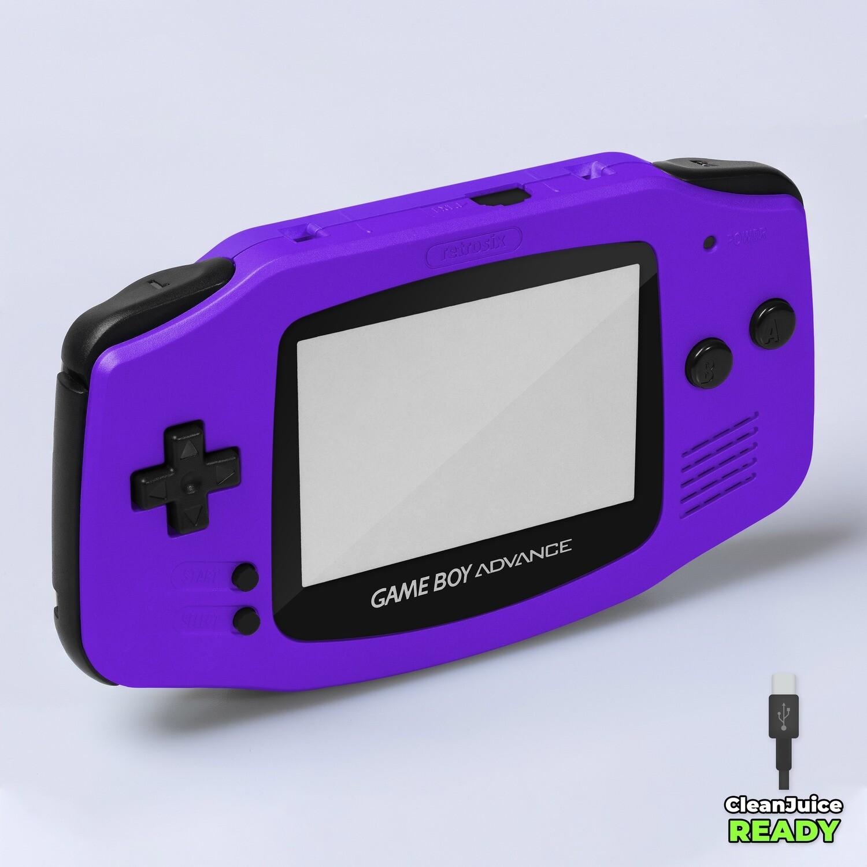 Game Boy Advance IPS USB-C Shell Kit (Pearl Purple)