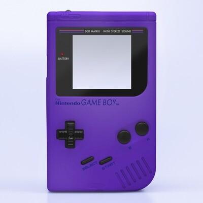 Game Boy Original IPS Shell Kit (Pearl Purple)